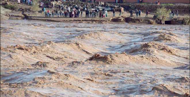 فيضانات جهة الرباط تتسبب في مصرع شاب جرفته السيول