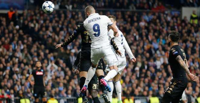 ريال مدريد يقلب الطاولة على نابولي في دوري الأبطال