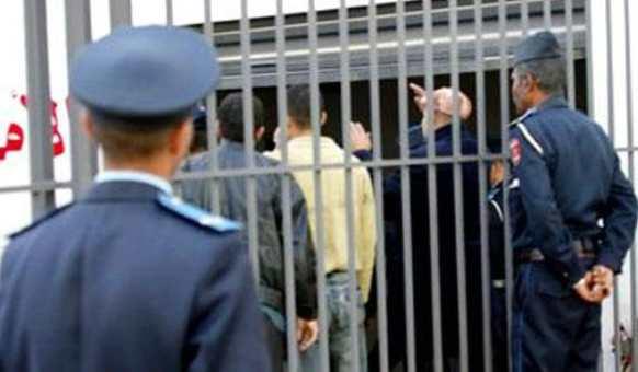 إيداع 7 عناصر داعشية بالسجن المحلي بسلا  بعد تورطهم في مخطط إرهابي خطير