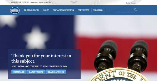 البيت الأبيض يعيد الاعتبار جزئيا للإسبانية في مواقع التواصل الاجتماعي