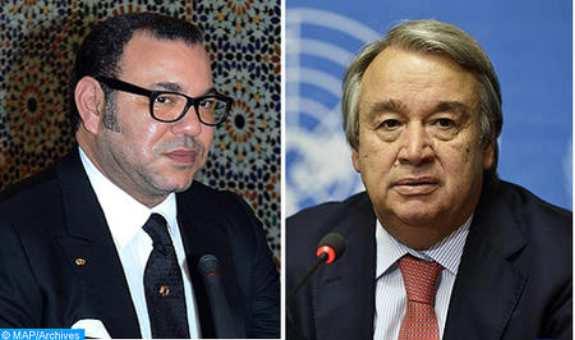 الملك محمد السادس ينبه الأمين العام للأمم المتحدة إلى الوضعية الخطيرة في الكركرات بالصحراء المغربية