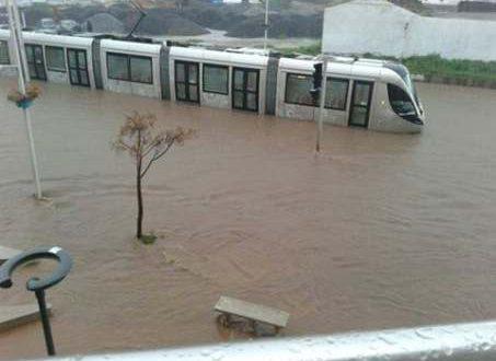 فيضانات جهة الرباط وسلا
