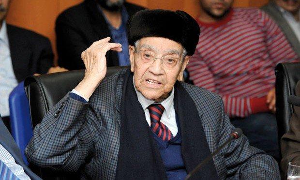 الملك: امحمد بوستة رجل دولة كبير رافقته الحكمة إلى آخر أيامه