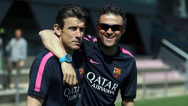 نجوم برشلونة يفضلون مساعد إنريكي
