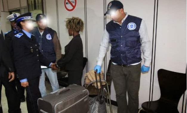 توقيف مواطن من غينيا بيساو حاول تهريب الكوكايين بمطار محمد الخامس