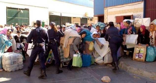 بيان لوزارة الصحة حول وفاة إمرأة مغربية بعد التدافع في معبر باب سبتة