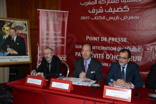 الصبيحي: المشاركة في  معرض باريس للكتاب إبراز لصورة المغرب ما بعد دستور 2011