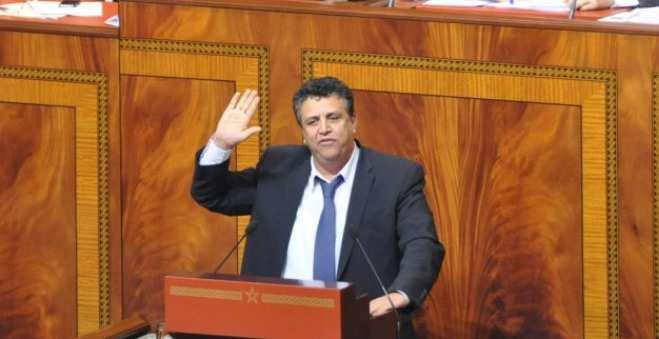 أخبار عن استقالة عبد اللطيف وهبي من رئاسة فريق حزب الجرار