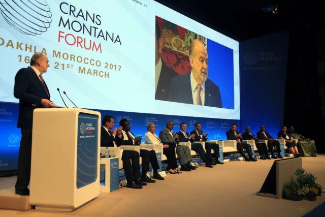 كرانس مونتانا 2017 بالداخلة يفتح ملف النهضة بإفريقيا