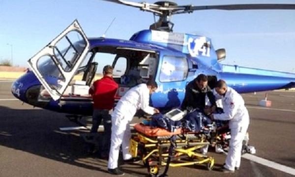 المروحيات الطبية تنقذ مرضى بالجهة الشرقية والأقاليم الجنوبية