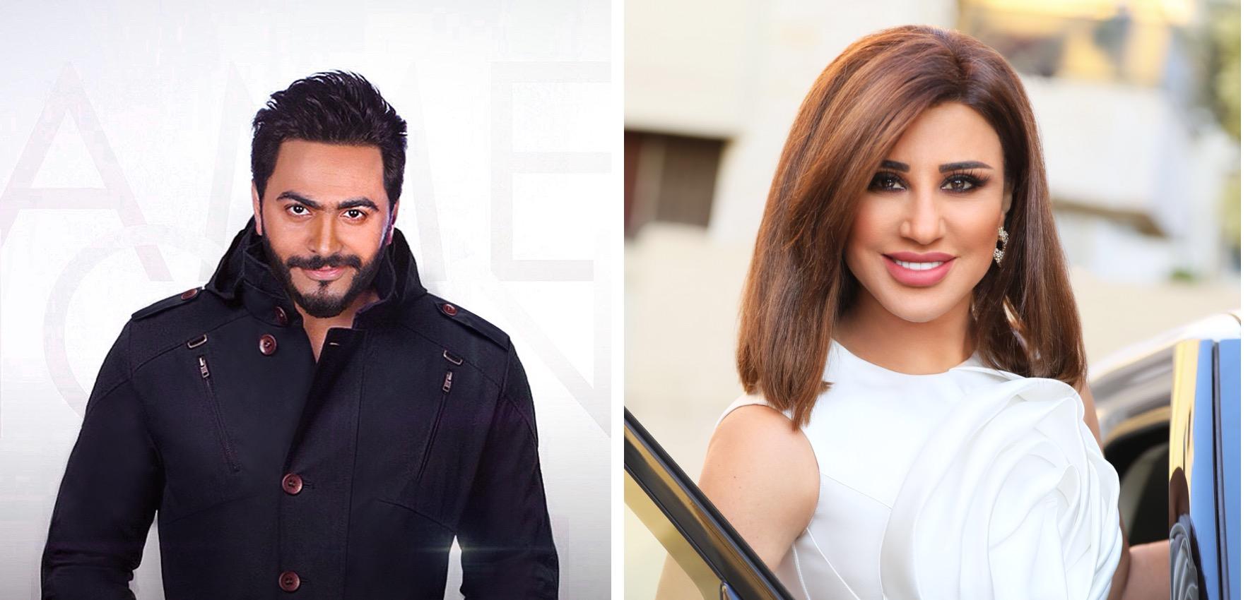 نجوى كرم وتامر حسني أبرز نجوم نسخة 2017 من مهرجان