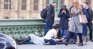صورة فتاة محجبة في هجوم لندن