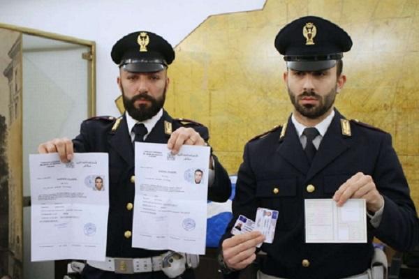 توقيف مغربي في إيطاليا حول منزله إلى مطبعة لتزوير الوثائق