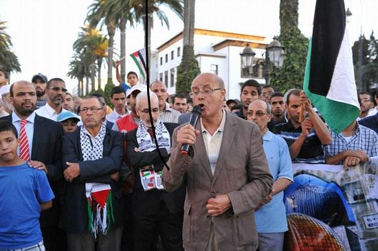 الدار البيضاء تخرج في مسيرة غضب بمئوية وعد بلفور المشؤوم