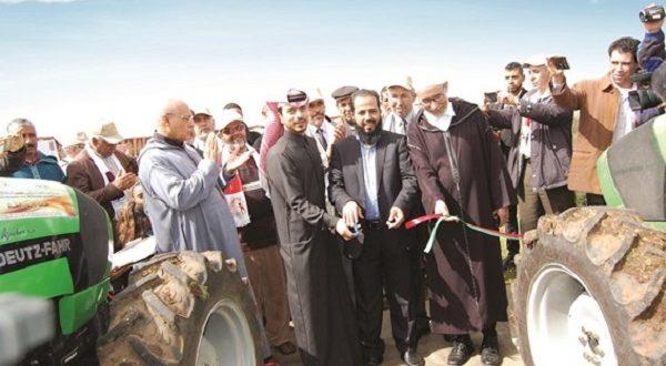 قطر تدعم صغار المزارعين بالمغرب