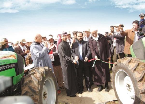 دعم قطري للفلاحين الصغار المغاربة