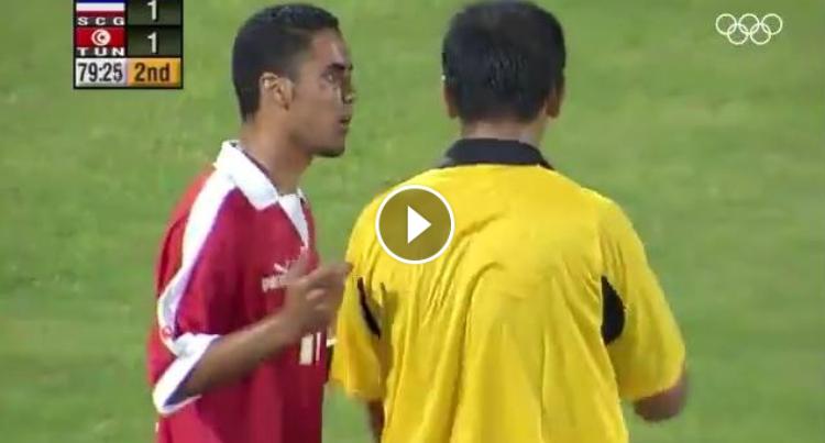 ضربة جزاء دخل بها المنتخب التونسي للتاريخ