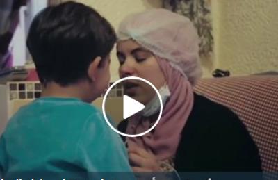 عماد.. طفل  يعلّمنا الحياة