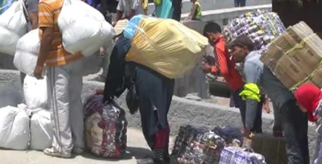 السلطات المغربية والاسبانية تتفقان على إغلاق معبر باب سبتة بشكل مؤقت