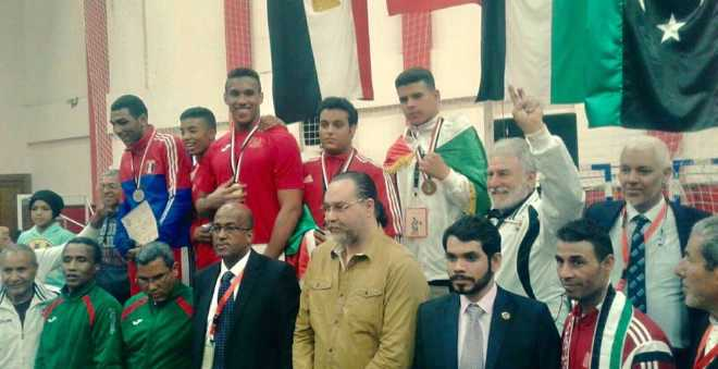 بوروس يتألق في البطولة العربية للملاكمة
