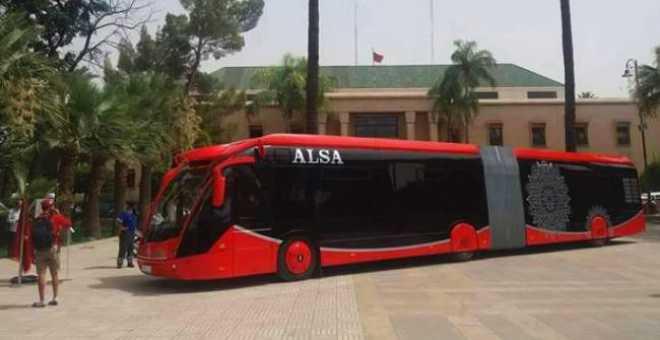 الحافلات الكهربائية في مراكش تتأخر باختفاء مسؤولي الشركة المكلفة