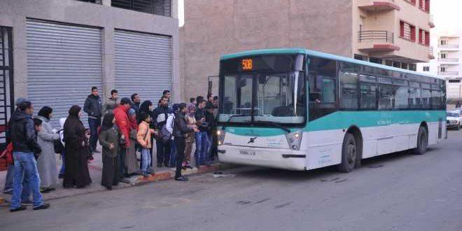 حافلات البيضاء