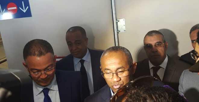 رئيس الكاف: جئت للمغرب لمناقشة مجموعة من المشاريع