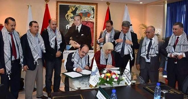 اتفاقية جهوية تعزز العلاقات الفلسطينية المغربية في ذكرى يوم الأرض