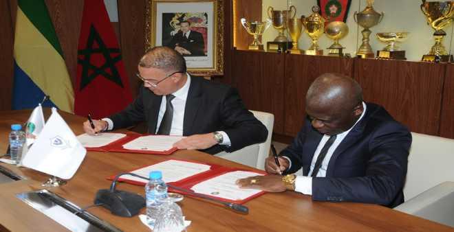 اتفاقية تعاون بين الجامعة والاتحاد الغابوني