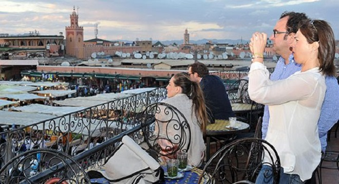 القطاع السياحي يتوقع نسبة ارتفاع الوافدين على المغرب في 2017