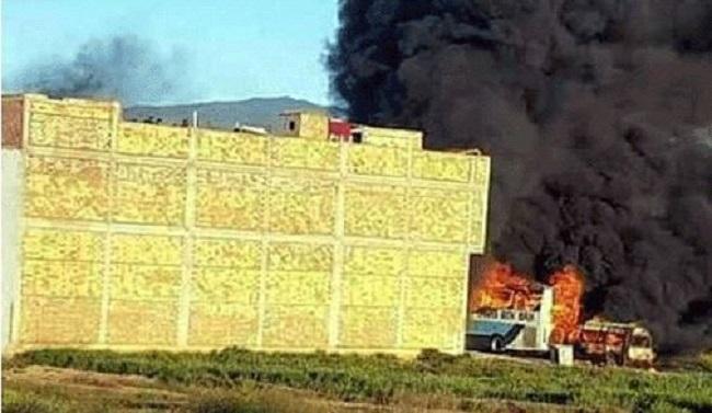 أعمال شغب بالحسيمة تلحق أضرارا بممتلكات للقوات العمومية