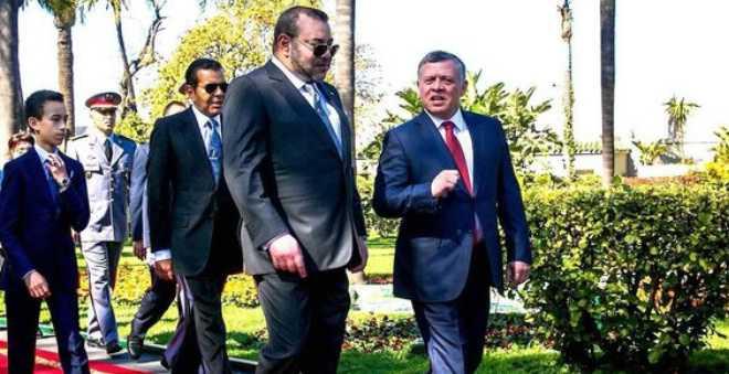 عاهل المملكة الأردنية يحل بالرباط في زيارة رسمية للمملكة