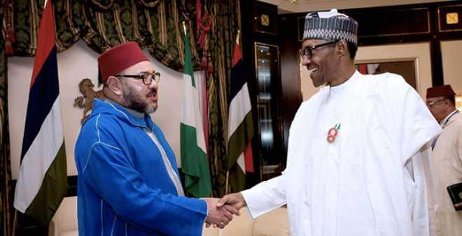 الملك محمد السادس يجري مباحثات هاتفية مع رئيس جمهورية نيجيريا