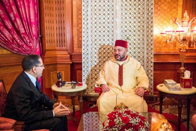 الملك يهنئ العثماني بـ''منصبه الجديد'' ويشيد بخدمات بنكيران