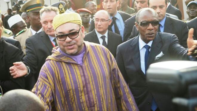 بعد عودته من إفريقيا.. الملك يستقبل رئيس غينيا بالبيضاء