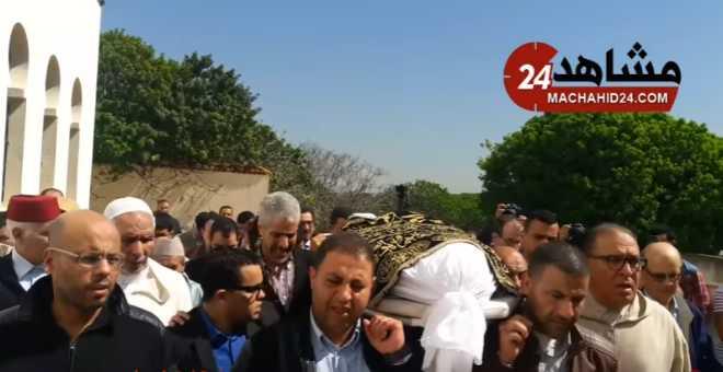 بالفيديو. أجواء مهيبة في جنازة البرلماني
