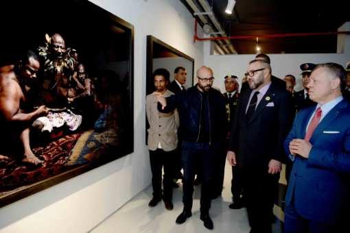 إشعاع افريقيا ينبثق من العاصمة المغربية في  معرض فني كبير