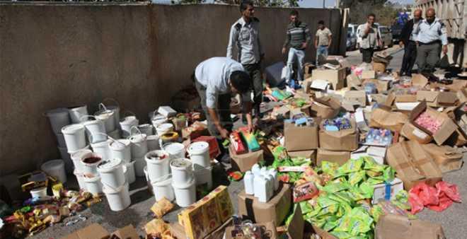 تقرير: إتلاف أزيد من 4 أطنان من المنتجات الغذائية الفاسدة في 2017