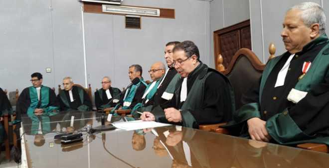قضايا المحاكم العادية المحكومة تسجل ارتفاعا ما بين 2012 و 2016