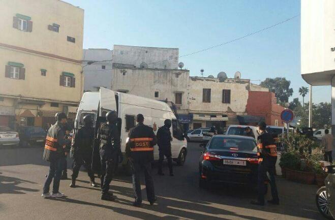 عاجل. مكتب الخيام يوقف إرهابيين بالبيضاء