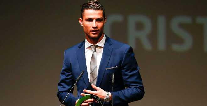 رونالدو أشهر رياضي في العالم