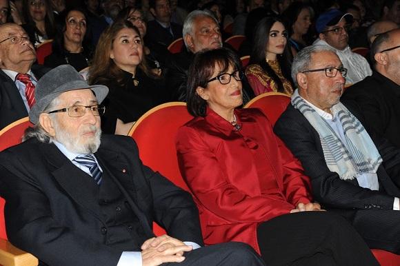 تكريم ثريا جبران ومحمد التسولي في مهرجان مكناس للدراما التلفزية