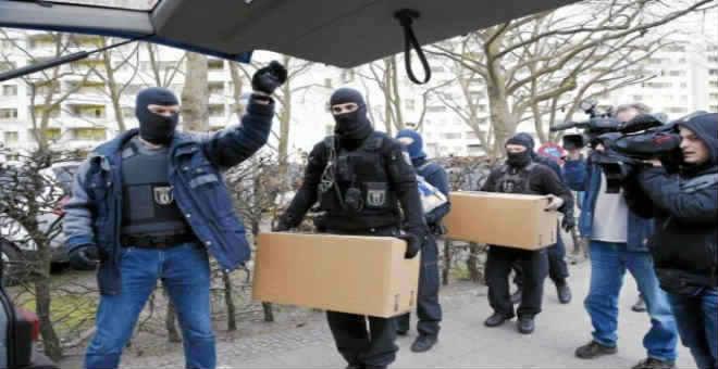 الأمن الألماني يوسع التحقيق مع أوساط متصلة بهجوم