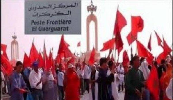 الكركرات تدخل النظام الجزائري وإعلامه في حالة هيستيريا مرضية