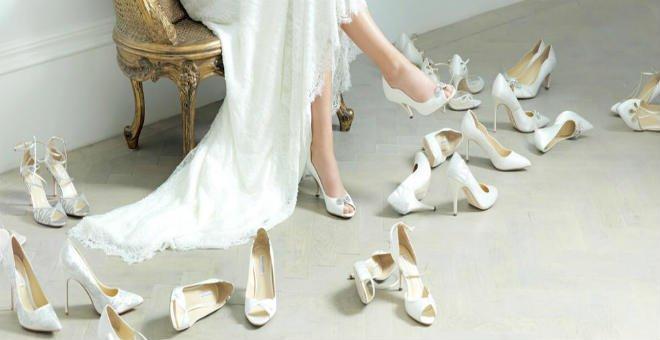 اكتشفي أحدث صيحات حذاء العروس في 2017