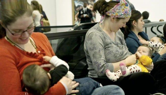 تشجيع الأمهات على الإرضاع الطبيعي في أي وقت ومكان دون حرج