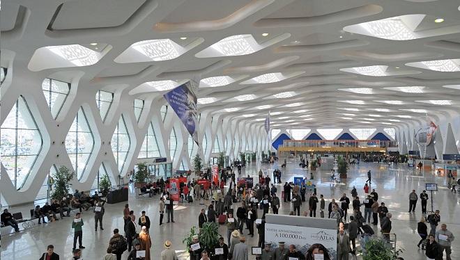 سفراء أفارقة بالمغرب يزورون مطار مراكش المنارة الدولي