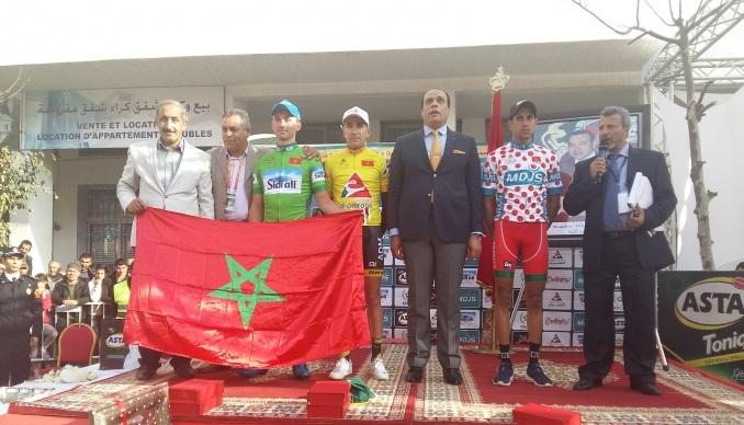 أنس أيت العبدية يفوز بطواف المغرب للدراجات