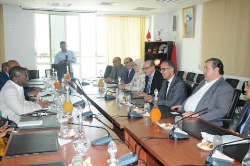 مباحثات بشأن أفاق التعاون بين مجلس جهة الرباط وجزر القمر
