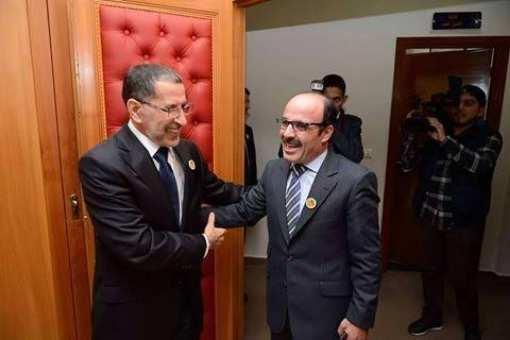 رئيس الحكومة سعد الدين العثماني يستقبل زعيم حزب